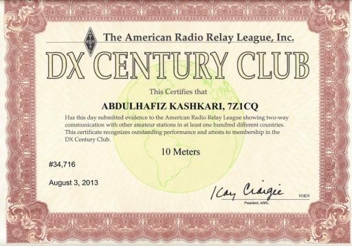 10m dxcc